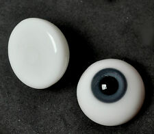 FlatBack 22MM Gray&Blue Glass BJD Eyes for Reborn DOD DZ AOD Volks Luts BJD Doll