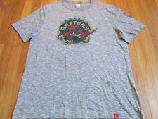 MAJESTIC NBA HWC TORONTO RAPTORS TRIPLE PEAK T-SHIRT SIZE L