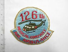 Patch_  US 126th Medical Company AIR AMBULANCE Patch _ 126th