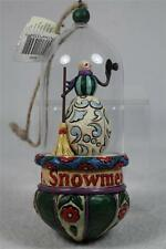 Jim Shore Glass Domed 'Snowmen Come To Life' Ornament'  #4010364  NEW
