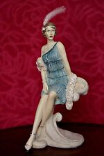 Vintage 'The Leonardo Collection' Figurine 'Roaring 20's Lady'