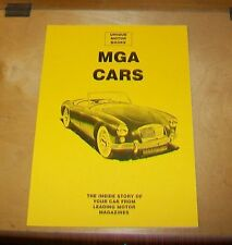 MGA AUTO ROAD TEST & manutenzione revisione ristampa libro. memoria alta press. TWIN CAM 1600