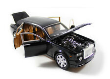 1:24 Rolls-Royce Phantom Toy Car Diecast Sound Light Pullback Model Black
