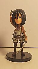 "ATTACK ON TITAN ""MIKASA ACKERMAN"" GASHAPON TRADING FIGURE"