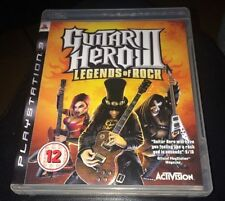 GUITAR HERO 3 LEGENDS OF ROCK GIOCO PS3 PLAYSTATION 3 *****