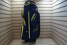 NEW Mizuno Eight50 Cart Bag 4-Dividers Black/Yellow 210868