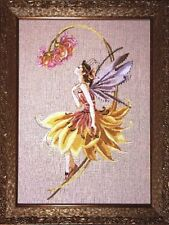 "SALE!  COMPLETE XSTITCH MATERIALS ""THE PETAL FAIRY"" MD82 by Mirabilia"