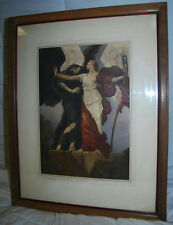 """25""""  """"THE TRIUMPH OF TRUTH OVER ERROR"""" FRAMED PRINT BY CAMPBELL PRINT INC NY"""