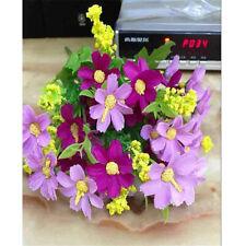 28 Flowers Artificial Fake Silk Daisy Flower Bouquet Wedding/Decoration D2718