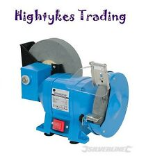 250W WET & DRY BENCH GRINDER SHARPENER FOR GRINDING AND POLISHING METAL