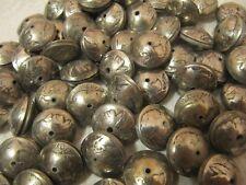 HAND MADE SQUASH BLOSSOM BEADS(100) OUT OF ORIGINAL BUFFALO NICKEL COINS!