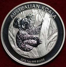 AUSTRALIA, 2013  KOALA SERIES SILVER COINS, .999%1 Oz Brilliant Uncirculated #2