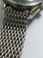 NEW STAINLESS STEEL SHARK MESH BRACELET FITS SIZE 20MM VTGSEIKO  /OMEGA WATCH