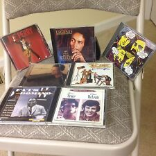 Lot Of 7 Rock Cd's Joe Perry, Bob Marley, Rascals, ZZ Top, Croce/McLean and more