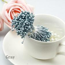 280/Artificial Flower Stamen Double Tip Pearlized Craft Cards Cake Decoration