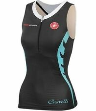 Castelli Body Paint W Tri Singlet Womens Black Medium