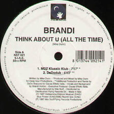 BRANDI - Think About U (All The Time)  - 1997 Nite Stuff Italy - NST 021