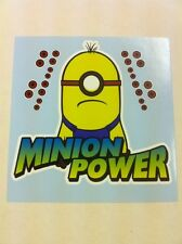 Minion Power 2 vinyl racing track car sticker decal VW JDM DRIFT despicable me 2