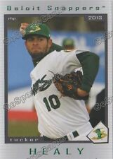 2013 Beloit Snappers Complete Team Set Oakland Athletics Minor League