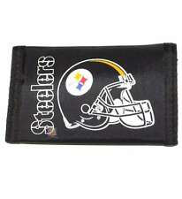 Pittsburgh Steelers Black Nylon Tri-Fold Wallet [Misc.], New