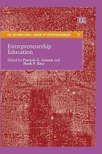 Entrepreneurship Education (International Library of Entrepreneurship)