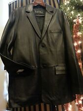 NEW NICOLE MILLER NEW YORK LAMB LEATHER COAT GORGEOUS FROM BEVERLY HILLS