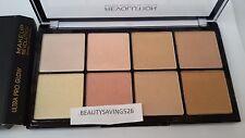 Revolución Maquillaje Ultra Pro Paleta resplandor 8 polvo destacando 1St P&P