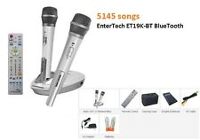 2017 EnterTech Magic Sing 5145 TAGALOG ENGLISH SONG ET19K-BT 2 Wireless mic