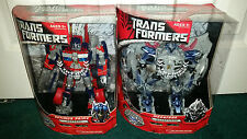 Optimus Prime + Megatron Leader Class Transformers Movie 1 2007 Hasbro MISP