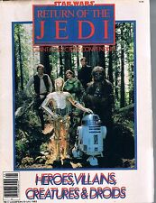 Star Wars Return of the Jedi Giant Collectors Compendium Tabloid Sized Magazine