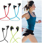 Running Wireless Bluetooth Headset Stereo Headphone Earphone for iPhone Samsung