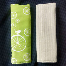 Organic Cotton Strap Covers for Car-seat, Pram, baby carrier or harnesses