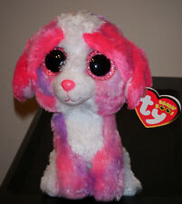 "Ty Beanie Boos ~ SHERBET the 6"" Dog ~ 2014 NEW ~ MINT with MINT TAGS ~ IN HAND"