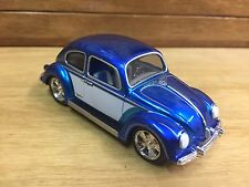 Hot Wheels 1:50 Scale Volkswagen Beetle Blue w/RR Real Riders Loose