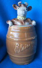 Vintage Elsie the Cow Cookie Jar Made by Pottery Guild