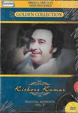 KISHORE KUMAR GOLDEN COLECCIÓN MÁGICO MOMENTS VOL 3 BOLLYWOOD CANCIONES DVD