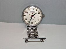RARE 1950s SMITHS RED CROSS NURSES FOB WATCH