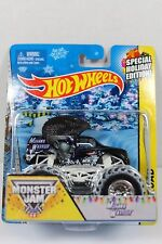 HOT WHEELS MOHAWK MONSTER JAM HOLIDAY EDITION OFF-ROAD DIECAST CAR 1/64 RARE!
