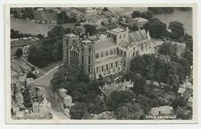 Postcard, Aero Pictorial, Air View, Ripon Cathedral