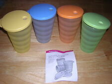 Tupperware Impressions Tumblers  Spring colors NEW NLA SALE!!