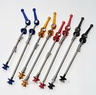 ALL COLOUR  pair Mountain bike quick release QR Road bicycle skewers  MTB