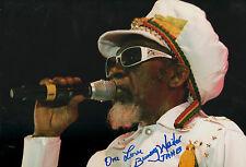 "Bunny Wailer ""Bob Marley & The Wailers"" Autogramm signed 20x30 cm Bild"