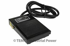 TEMCo Industrial Foot Switch SPDT NO NC Electric Power Pedal Momentary New CNC