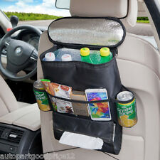 1pc Auto Accessories Car Seat Back Multi-Pocket Insulation Storage Bag Organizer