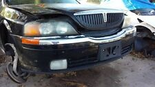 LINCOLN LS 2000 2001 2002  FRONT BUMPER COVER BLACK