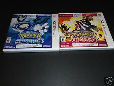 Pokemon Omega Ruby & Alpha Sapphire for Nintendo 3DS New Sealed