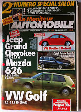 Le moniteur Automobile 14/1/1998; 2eme N° Spécial Salon/ Mazda 626/ Golf/ Jeep