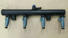 Lot de 4 x peugeot 206 gti 180 bleu bosch injecteurs and rail gti 180 essence 307 cc