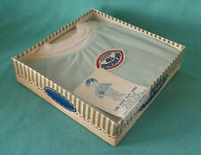 New Vtg Two Piece Sleep & Play Jama ~ All American Brushed Tricot ~ in Orig Box