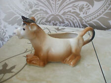 Vintage Retro Ceramic Novelty Cow Creamer milk Jug